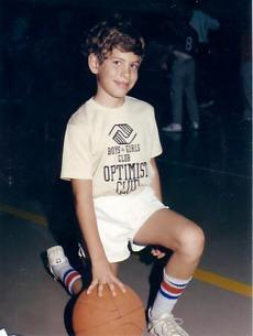Even as a child, Stevens was a basketball enthusiast.